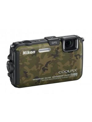 Ультракомпактный фотоаппарат Nikon Coolpix AW100 Green