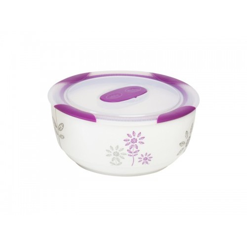 Oursson Керамический контейнер CC0300R/WV (Белый с пурпурным)