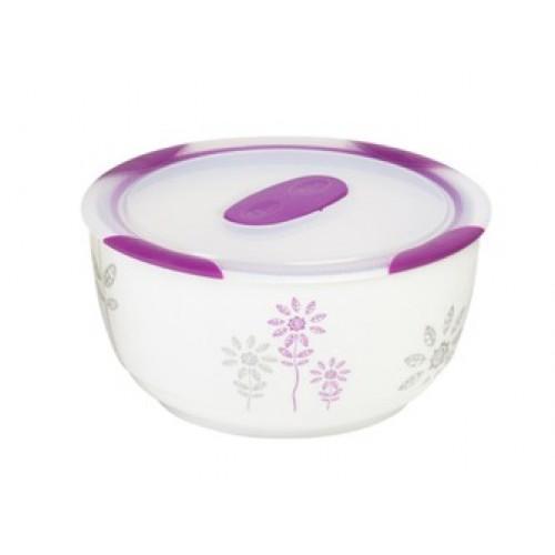 Oursson Керамический контейнер CC0900R/WV (Белый с пурпурным)