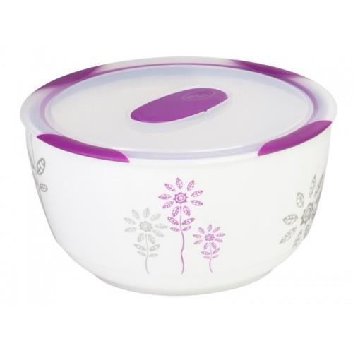 Oursson Керамический контейнер CC1700R/WV (Белый с пурпурным)