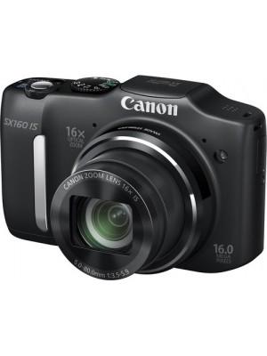 Компактный фотоаппарат Canon PowerShot SX160 IS Black
