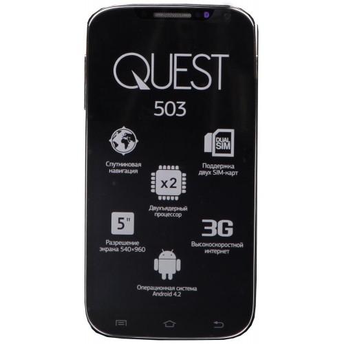 Смартфон Qumo Quest 503 (Black)