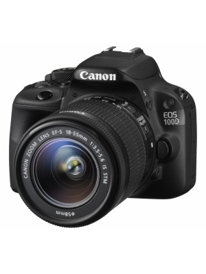 Зеркальный фотоаппарат Canon EOS 100D kit (18-55mm) EF-S IS STM