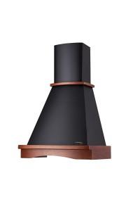 Вытяжка купольная/настенная Pyramida R 60 black (nut)