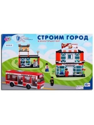 Пластмассовый конструктор Joy Toy Строим город (3053)