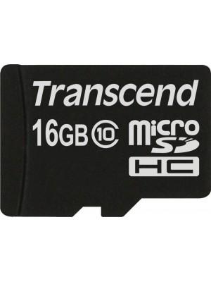 Карта памяти Transcend 16 GB microSDHC class 10 TS16GUSDC10