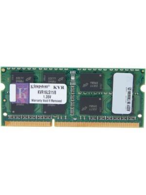 Оперативная память Kingston 8 GB SO-DIMM DDR3 1600 MHz (KVR16LS11/8)