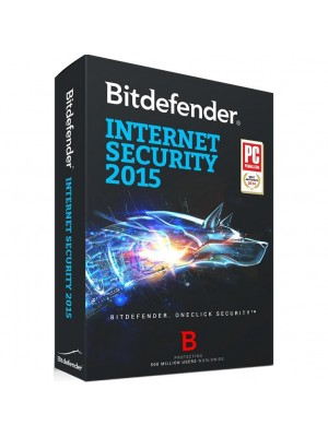 Антивирусное ПО Bitdefender Internet Security 1 year 1 PC