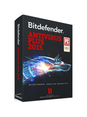 Аантивирусное ПО Bitdefender Antivirus Plus 1 year 1 PC