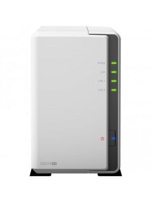 Сетевой накопитель Synology DS214se, 2-bay NAS Server, Internal HDD/SSD