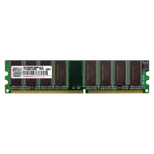 Оперативная память Transcend 1 GB DDR 400 MHz (TS128MLD64V4J)