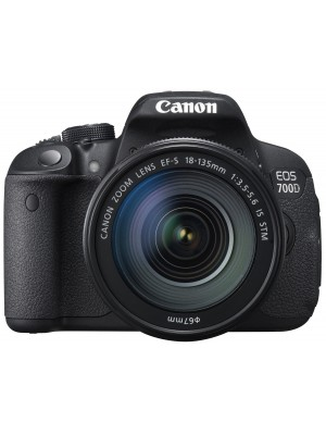 Зеркальный фотоаппарат Canon EOS 700D kit (18-135mm) IS STM