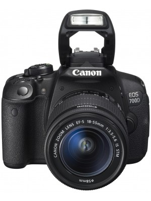 Зеркальный фотоаппарат Canon EOS 700D kit (18-55mm) IS STM