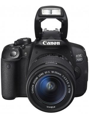 Зеркальный фотоаппарат Canon EOS 700D kit (18-55mm) IS STM