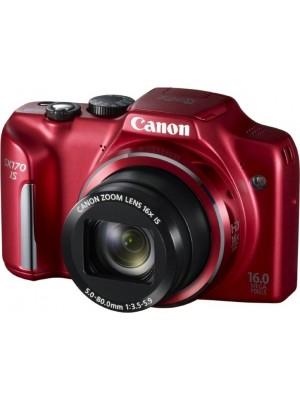 Компактный фотоаппарат Canon PowerShot SX170 IS Red