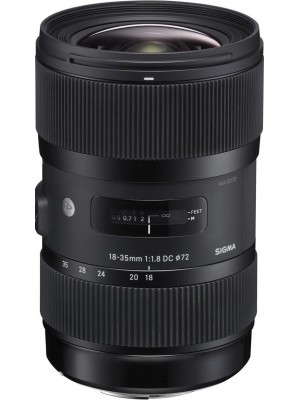 Объектив универсальный Sigma 18-35mm F/1.8 DC HSM F/Nik