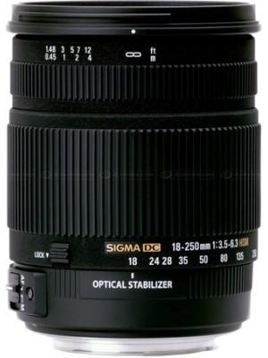 Объектив универсальный Sigma AF 18-250mm F3.5-6.3 DC OS HSM F/Can