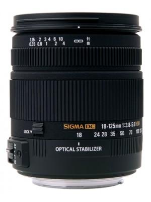 Объектив универсальный Sigma AF 18-125mm F3.8-5.6 DC OS HSM F/Nik
