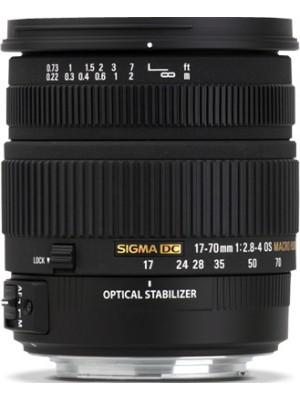 Объектив стандартный Sigma AF 17-70mm F2.8-4.0 DC MACRO OS HSM F/Nik