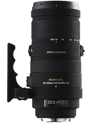 Зум телеобъектив Sigma AF 120-400mm F4.5-5.6 APO OS HSM DG F/Nik