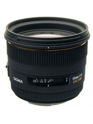 Объектив стандартный Sigma AF 50mm f1.4 EX DG HSM F/Nik
