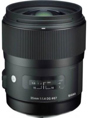 Объектив широкоугольный Sigma AF 35mm F/1,4 DG HSM F/Nik