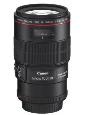Макрообъектив Canon EF 100mm f/2.8L Macro IS USM