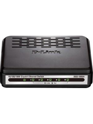 Коммутатор неуправляемый D-Link DGS-1005A