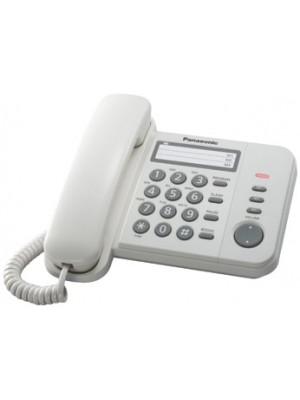 Проводной телефон Panasonic KX-TS2352UAW White