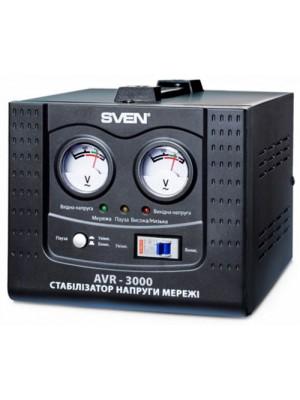 Стабилизатор напряжения Sven AVR-3000