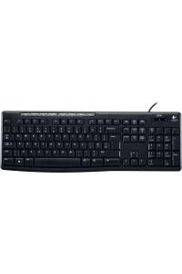 Клавиатура Logitech K200 Black