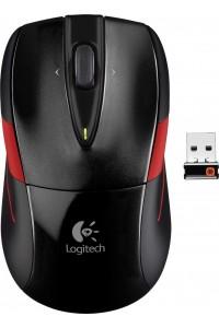 Мышь Logitech M525 Wireless Mouse (Black/Red)