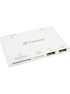 Картридер + USB hub Transcend TS-RDP7W