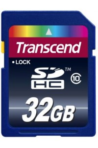 Карта памяти Transcend 32 GB SDHC Class 10 TS32GSDHC10