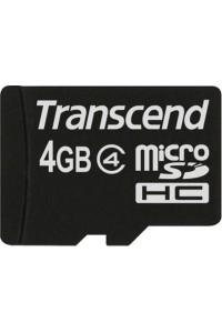 Карта памяти Transcend 4 GB microSDHC class 4 TS4GUSDC4