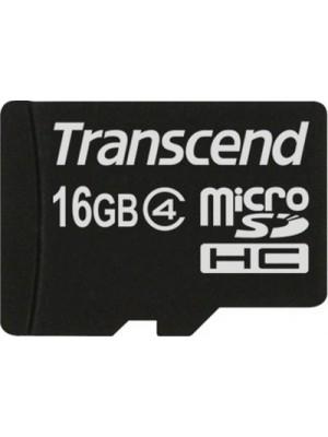 Карта памяти Transcend 16 GB microSDHC class 4 TS16GUSDC4