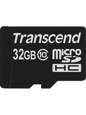 Карта памяти Transcend 32 GB microSDHC class 10 TS32GUSDC10