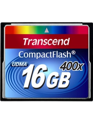 Карта памяти Transcend 16 GB 400X CompactFlash Card TS16GCF400