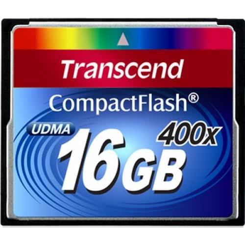 Карта памяти Transcend 16 GB 400X CompactFlash Card TS16GCF400