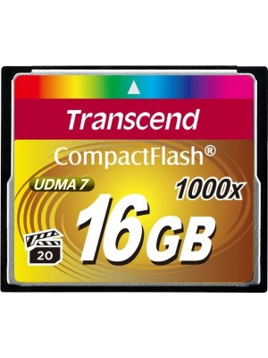 Карта памяти Transcend 16 GB 1000X CompactFlash Card TS16GCF1000