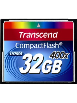 Карта памяти Transcend 32 GB 400X CompactFlash Card TS32GCF400