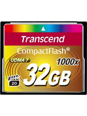 Карта памяти Transcend 32 GB 1000X CompactFlash Card TS32GCF1000