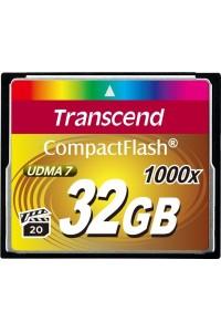 Карта памяти Transcend 32 GB 1000X CompactFlash Card TS32GCF1000