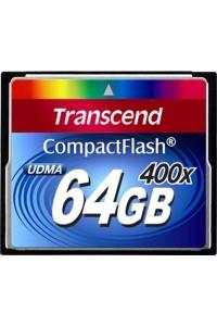 Карта памяти Transcend 64 GB 400X CompactFlash Card TS64GCF400