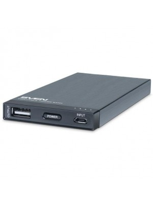 Внешний аккумулятор для заряда портативных устройств Sven MP-4017 black