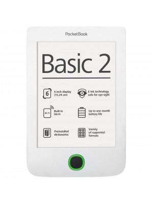 Электронная книга Pocketbook Basic 2 (614) White