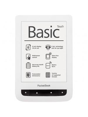 Электронная книга Pocketbook Basic Touch (624) White
