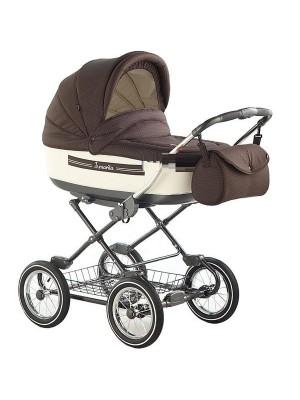 Классическая коляска 2 в 1 Roan Marita Lux s127-SK