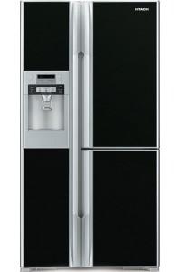 Холодильник с морозильной камерой Hitachi R-M700GUC8 (GBK)