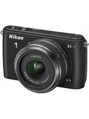 Компактный фотоаппарат со сменным объективом Nikon 1 S1 kit (11-27.5mm) Black
